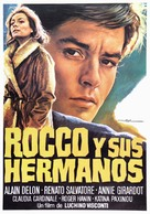Rocco e i suoi fratelli - Spanish Movie Poster (xs thumbnail)