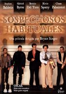 The Usual Suspects - Spanish Movie Cover (xs thumbnail)
