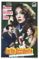A Foreign Affair - Spanish Movie Poster (xs thumbnail)