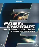 The Fast and the Furious - Spanish Movie Cover (xs thumbnail)