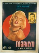 Marilyn - Italian Movie Poster (xs thumbnail)