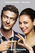 Friends with Benefits - Movie Poster (xs thumbnail)
