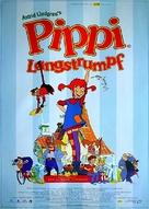 Pippi Longstocking - German Movie Poster (xs thumbnail)