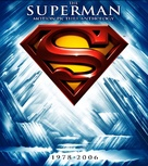 Superman IV: The Quest for Peace - Blu-Ray cover (xs thumbnail)
