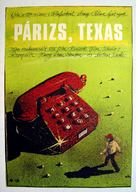 Paris, Texas - Hungarian Movie Poster (xs thumbnail)