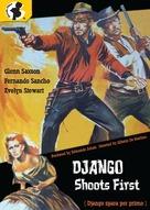 Django spara per primo - DVD cover (xs thumbnail)