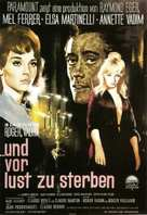 Et mourir de plaisir - German Movie Poster (xs thumbnail)