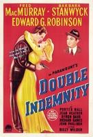 Double Indemnity - Australian Movie Poster (xs thumbnail)