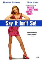 Say It Isn't So - DVD movie cover (xs thumbnail)