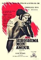 Hiroshima mon amour - Argentinian Movie Poster (xs thumbnail)