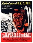 La bataille du rail - French Movie Poster (xs thumbnail)