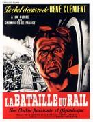 La bataille du rail - French Movie Poster (xs thumbnail)