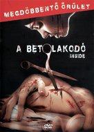 À l'intèrieur - Hungarian DVD cover (xs thumbnail)