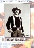 Rio Grande - Spanish Movie Cover (xs thumbnail)