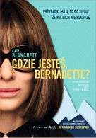 Where'd You Go, Bernadette - Polish Movie Poster (xs thumbnail)