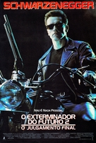 Terminator 2: Judgment Day - Brazilian Movie Poster (xs thumbnail)