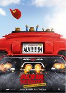 Alvin and the Chipmunks: The Road Chip - Italian Movie Poster (xs thumbnail)