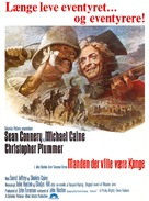 The Man Who Would Be King - Danish Movie Poster (xs thumbnail)