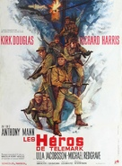 The Heroes of Telemark - French Movie Poster (xs thumbnail)