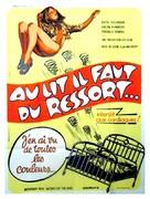 Das sündige Bett - French Movie Poster (xs thumbnail)