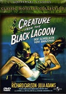 Creature from the Black Lagoon - German DVD cover (xs thumbnail)