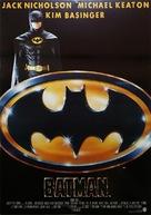 Batman - Turkish Movie Poster (xs thumbnail)