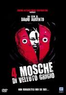 4 mosche di velluto grigio - Italian DVD cover (xs thumbnail)