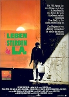 To Live and Die in L.A. - German Theatrical movie poster (xs thumbnail)