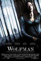 The Wolfman - German Movie Poster (xs thumbnail)