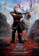 Frozen II - French Movie Poster (xs thumbnail)