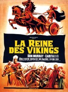 The Viking Queen - French Movie Poster (xs thumbnail)