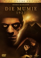 The Mummy - German Movie Cover (xs thumbnail)