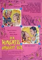 Der Kongreß amüsiert sich - German Movie Poster (xs thumbnail)