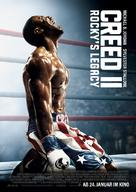 Creed II - German Movie Poster (xs thumbnail)