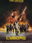 Cyborg - French Movie Poster (xs thumbnail)