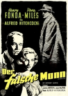 The Wrong Man - German Movie Poster (xs thumbnail)
