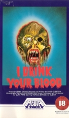 I Drink Your Blood - British VHS cover (xs thumbnail)