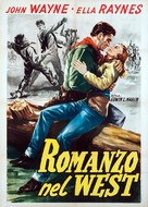 Tall in the Saddle - Italian Movie Poster (xs thumbnail)