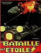 Battaglie negli spazi stellari - French Movie Cover (xs thumbnail)