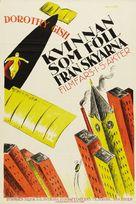 Flying Pat - Swedish Movie Poster (xs thumbnail)