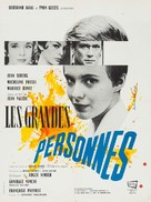 Les grandes personnes - French Movie Poster (xs thumbnail)