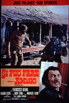 Si può fare... amigo - Italian Movie Poster (xs thumbnail)