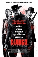 Django Unchained - British Movie Poster (xs thumbnail)