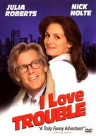 I Love Trouble - DVD movie cover (xs thumbnail)