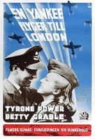 A Yank in the R.A.F. - Swedish Movie Poster (xs thumbnail)