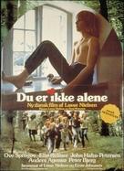 Du er ikke alene - Danish Movie Poster (xs thumbnail)