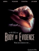 Body Of Evidence - German Movie Poster (xs thumbnail)