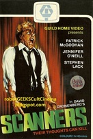 Scanners - VHS cover (xs thumbnail)