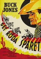 The Red Rider - Swedish Movie Poster (xs thumbnail)
