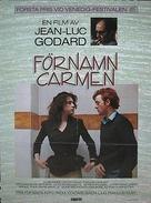 Prénom Carmen - Swedish Movie Poster (xs thumbnail)